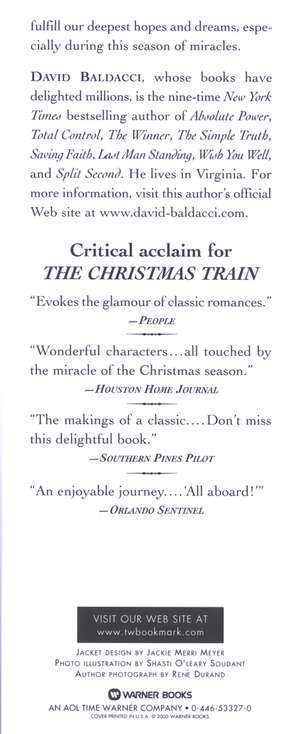 The Christmas Train: David Baldacci