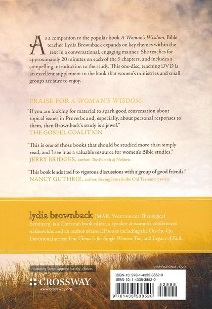 A Woman S Wisdom Dvd Lydia Brownback 9781433538520 Christianbook Com