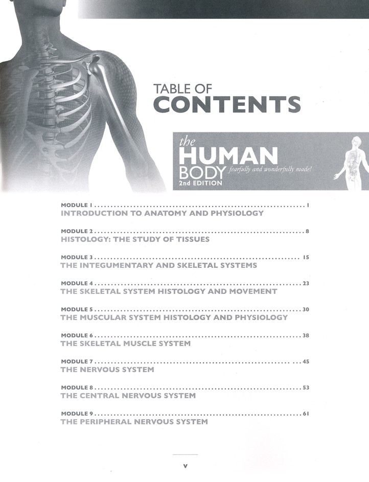 The Human Body (Advanced Biology), Solutions & Test Book, 2nd Edition