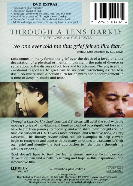 Through a Lens Darkly: Grief, Loss, and C.S. Lewis--DVD