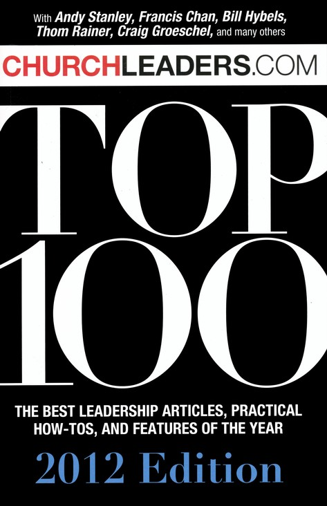 Churchleaders.com Top 100, 2012 Edition