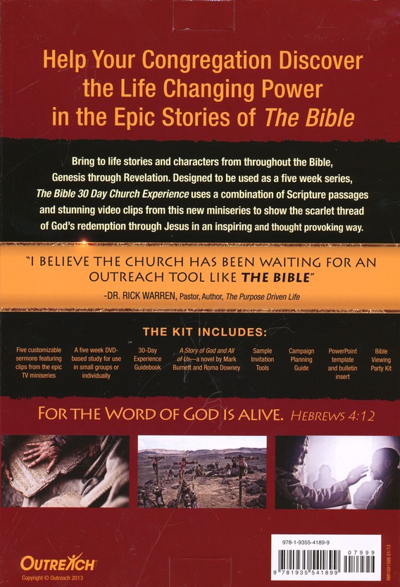 The Bible 30-Day Church Experience Kit