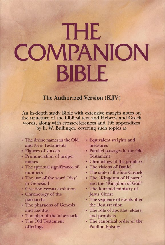 KJV Companion Bible, Bonded leather, black