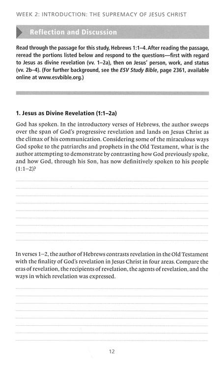 Hebrews Bible Study Week 2 Part 2 Bible Studies Hebrews bible