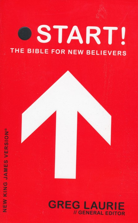NKJV Start! The Bible for New Believers - Trade Paper Red