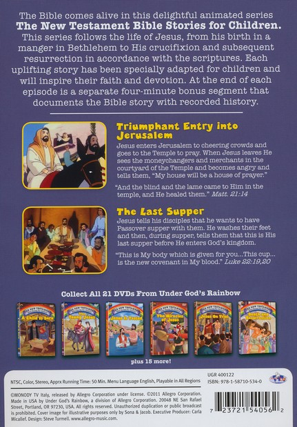 The Last Supper, Animated DVD