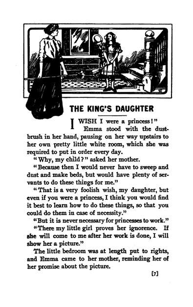 The King's Daughter and Other Stories for Girls
