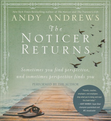 The Noticer Returns: Sometimes you find perspective, and sometime perspective finds you - unabridged audiobook on CD