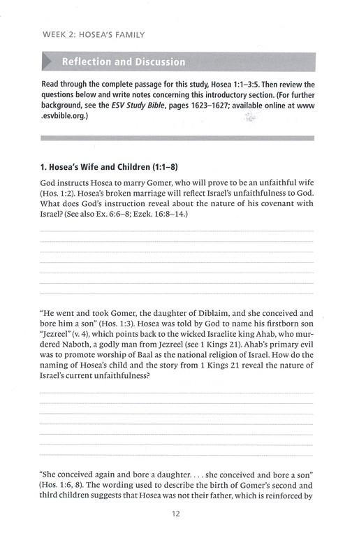 Hosea: A 12-Week Study