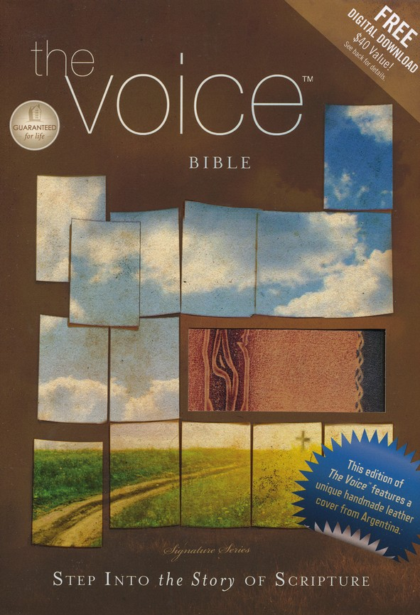 The Voice Complete Bible, Special Edition, Hand-crafted Genuine leather, multicolor