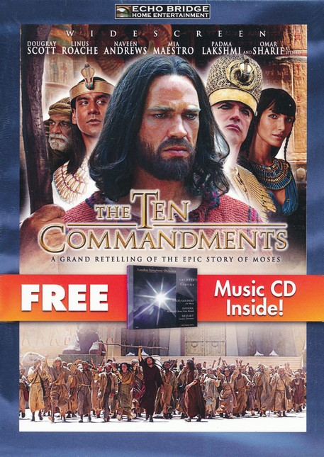The Ten Commandments (with free Music CD)