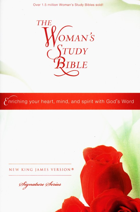 NKJV The Woman's Study Bible, Personal Size, Hardcover