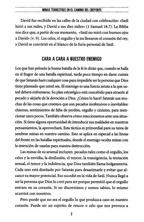 Minas terrestres en el camino del creyente: Cómo evitar los peligros ocultos (Spanish Edition)