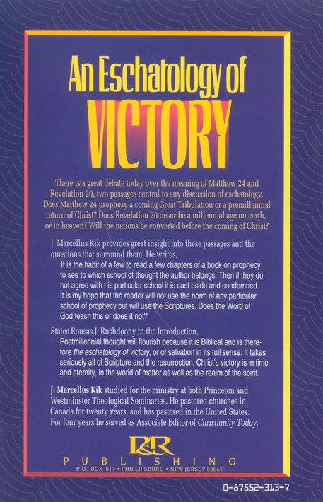 Eschatology of Victory