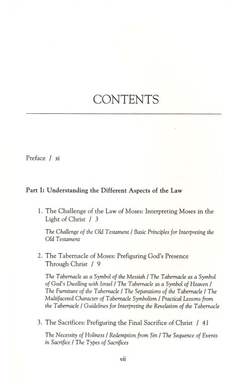 The Shadow Of Christ In The Law Of Moses Vern S Poythress
