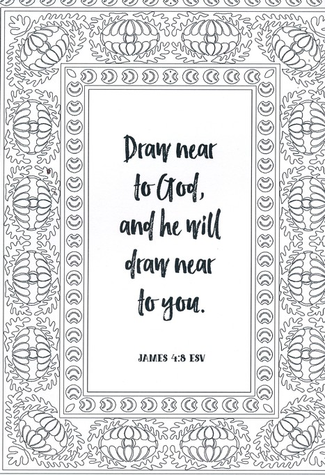Draw Near To God A Coloring Devotional 9781424552832