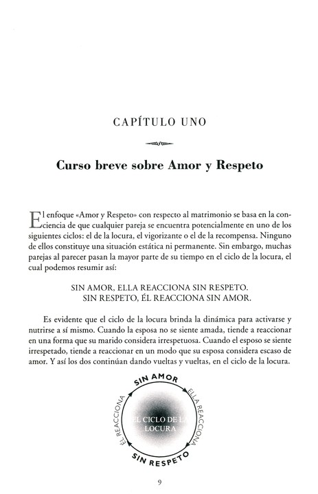 El Lenguaje de Amor y Respeto  (The Language of Love & Respect)