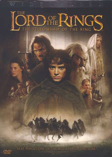 The Lord of the Rings: The Fellowship of the Ring (2001), DVD