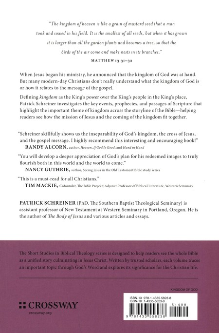 The Kingdom Of God And The Glory Of The Cross Edited By Dane C  The Kingdom Of God And The Glory Of The Cross Edited By Dane C Ortlund  Miles V Van Pelt By Patrick Schreiner   Christianbookcom Business Plan Essay also English Essay Websites  Research Essay Topics For High School Students