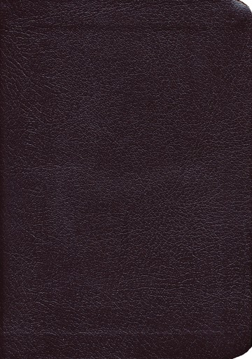 KJV Large-Print Compact Reference Bible, CBD Edition--bonded leather, burgundy