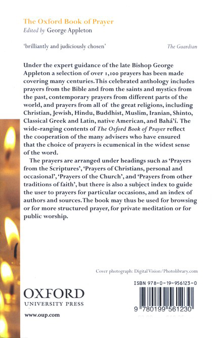 The Oxford Book of Prayer, Second Edition
