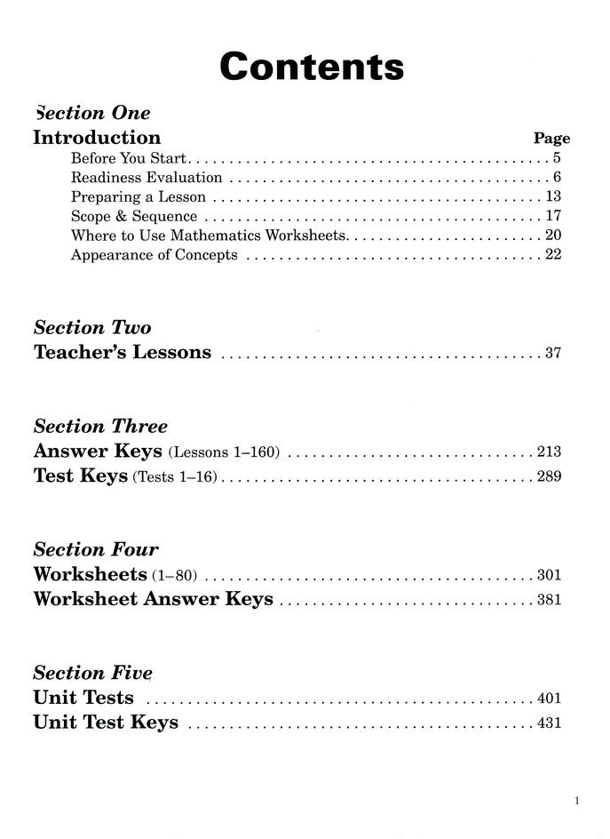 Horizons Math, Grade 6, Complete Set: 9780740300134 - Christianbook.com