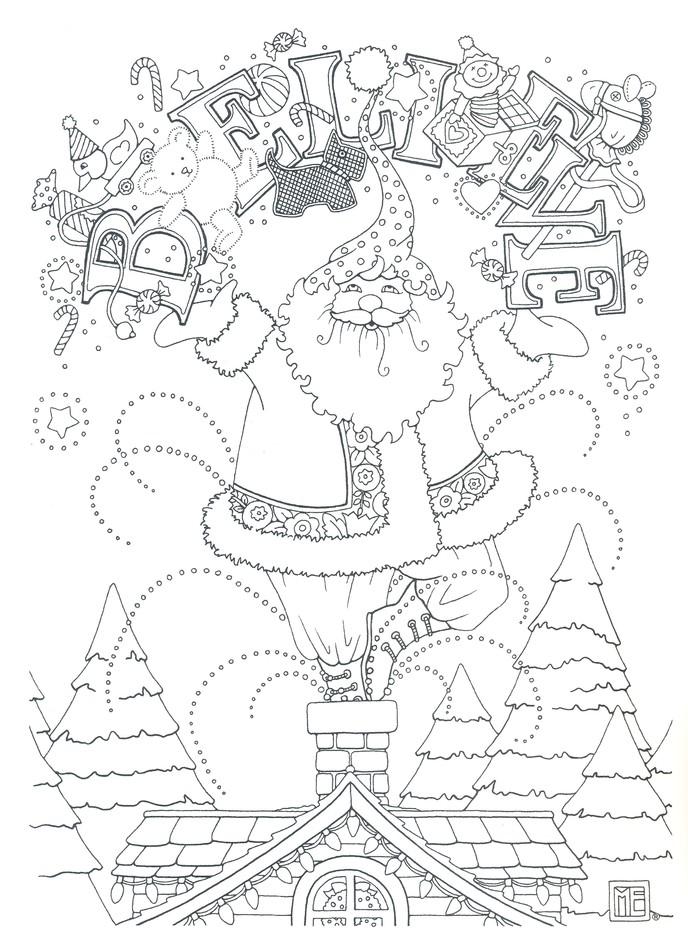 - Mary Engelbreit Coloring Book Www.tuningintomom.com