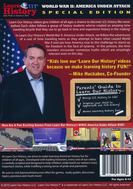 Origins of World War II, DVD Mike Huckabee's Learn Our History