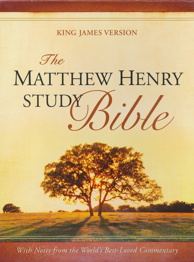 The Matthew Henry Bible, Flexisoft blue/gray