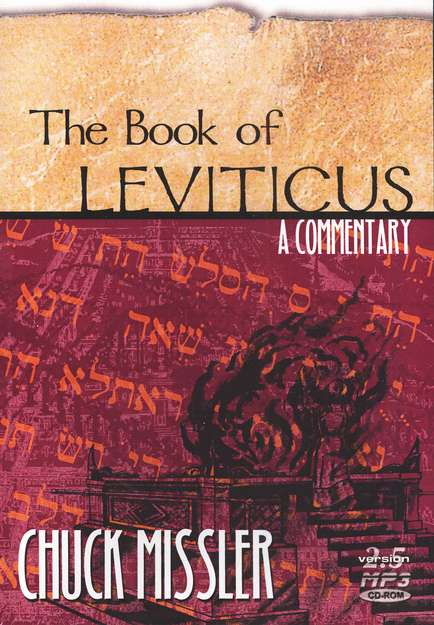 Leviticus Commentary Audiobook on MP3 CD-ROM