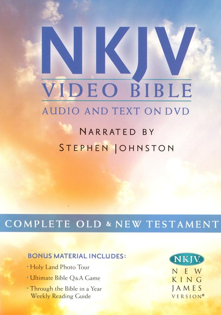 NKJV Bible on DVD