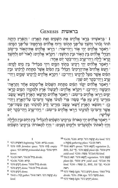 Biblia Hebraica Stuttgartensia: A Reader's Edition [Imitation Leather]