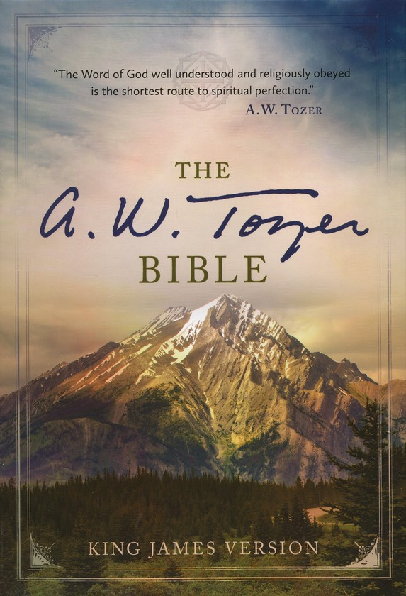 The A. W. Tozer Bible: KJV Version, Flexisoft leather brown/teal