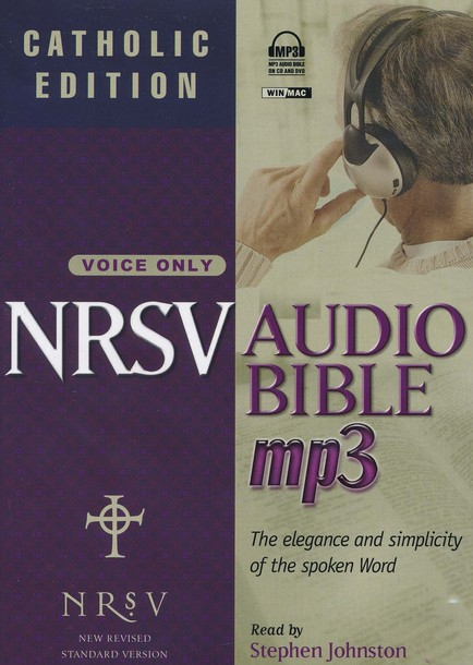 NRSV Audio Bible - Catholic Edition on MP3