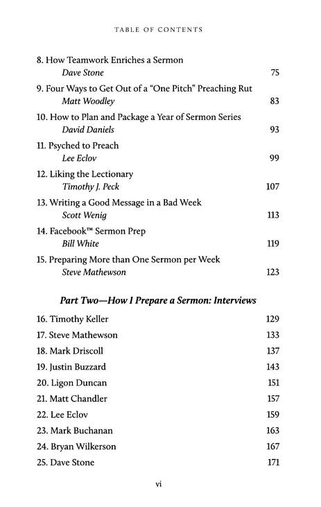 Sermon Preparation: The Preacher's Toolbox