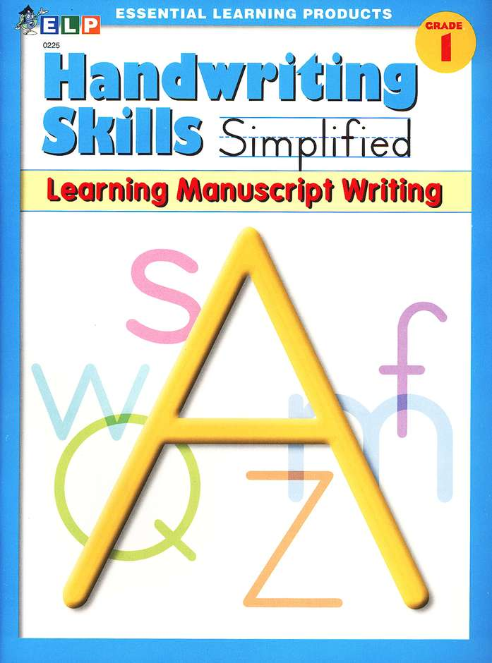 Handwriting Skills Simplified Level A: Learning Manuscript Writing