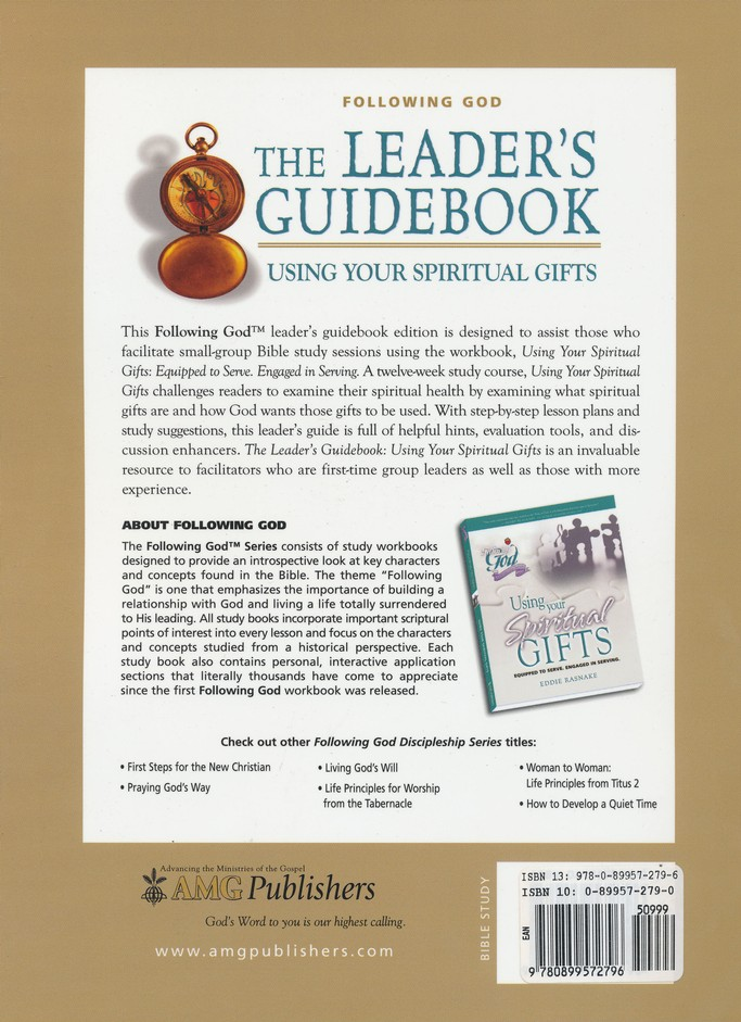 Following God: Spiritual Gifts, Leader's Guide
