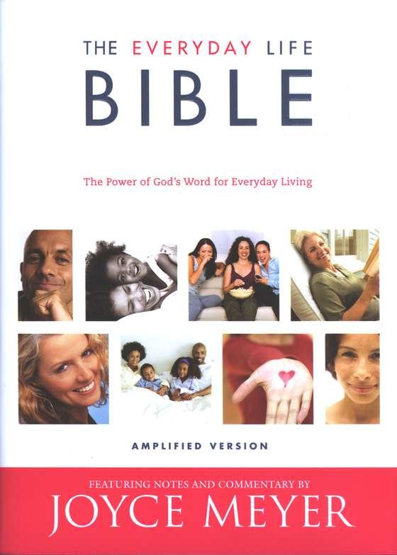 Joyce Meyers' Everyday Life Bible Hardcover Amplified Version Fascinating Joyce Meyer Enjoying Everyday Life Quotes