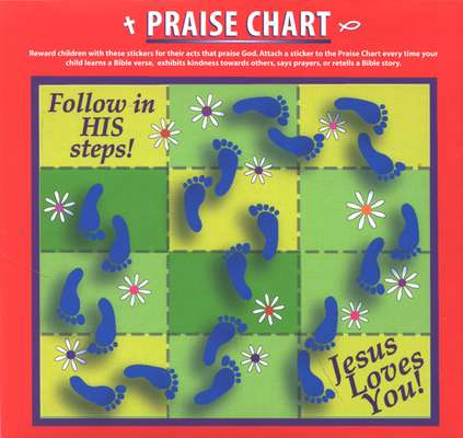 Praise God Praise Stickers & Chart