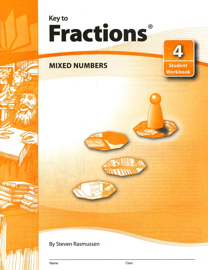 Key To Fractions, Book #4