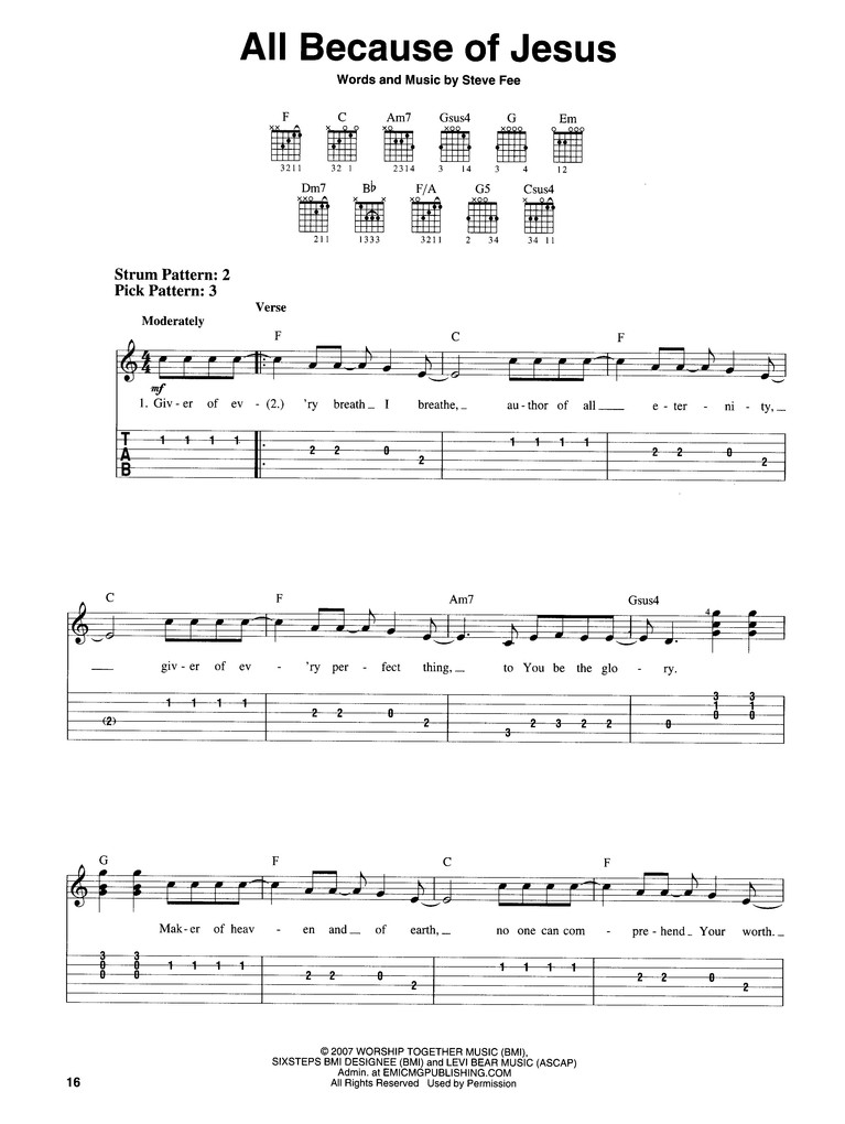 The Contemporary Christian Collection (Easy Guitar with Tab)