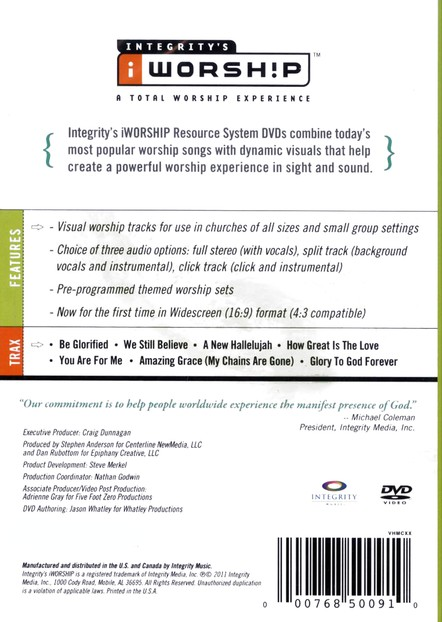 iWorship Resource System DVD, Volume V