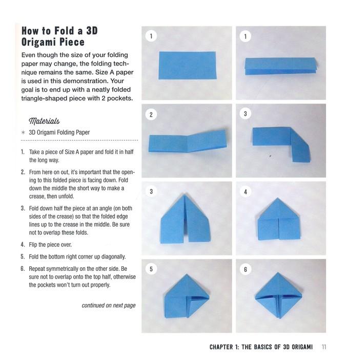Silent Origami Tutorial: Triangular Pyramid - YouTube | 709x679