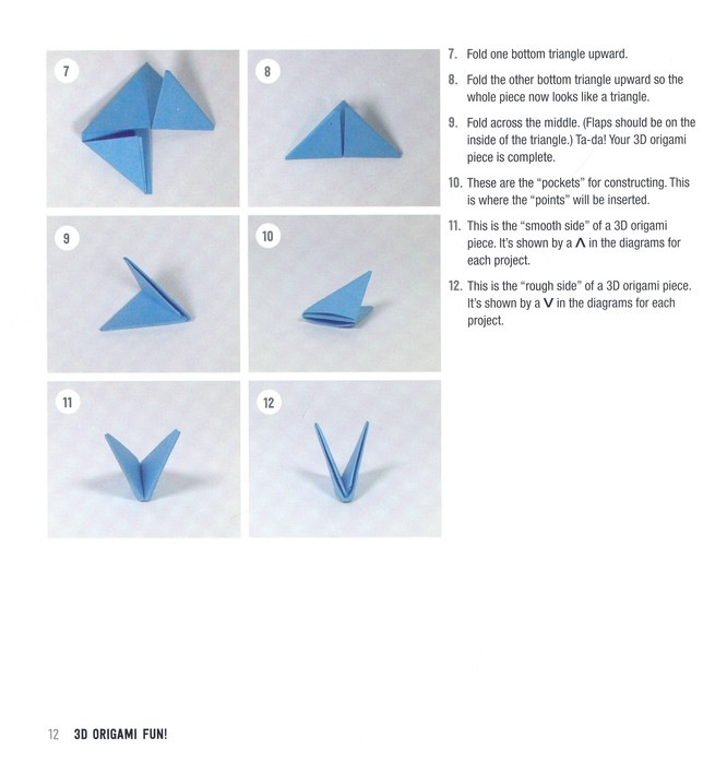 House (3D) - Easy Origami instructions For Kids | 698x666