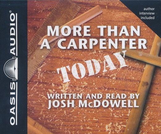 More Than a Carpenter Today - Abridged Audiobook on CD