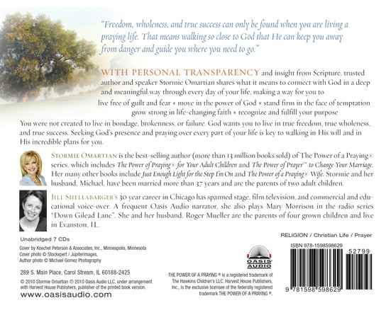 The Power of a Praying Life: Finding the Freedom, Wholeness, and True Success God Has for You Unabridged Audio CD