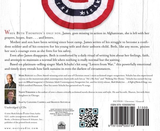 Letters From War Unabridged Audiobook on CD