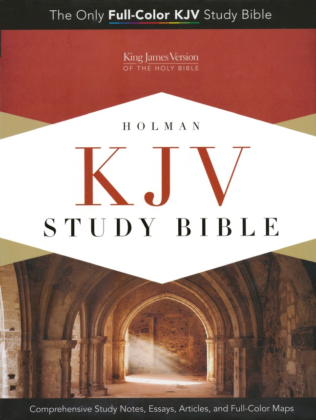 KJV Study Bible, Saddle Brown Simulated Leather