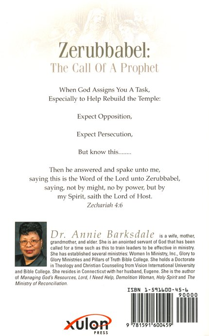 Zerubbabel: The Call of a Prophet