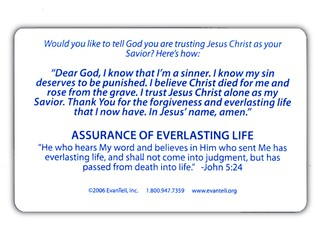 May I Ask You A Question? - Pocket Card